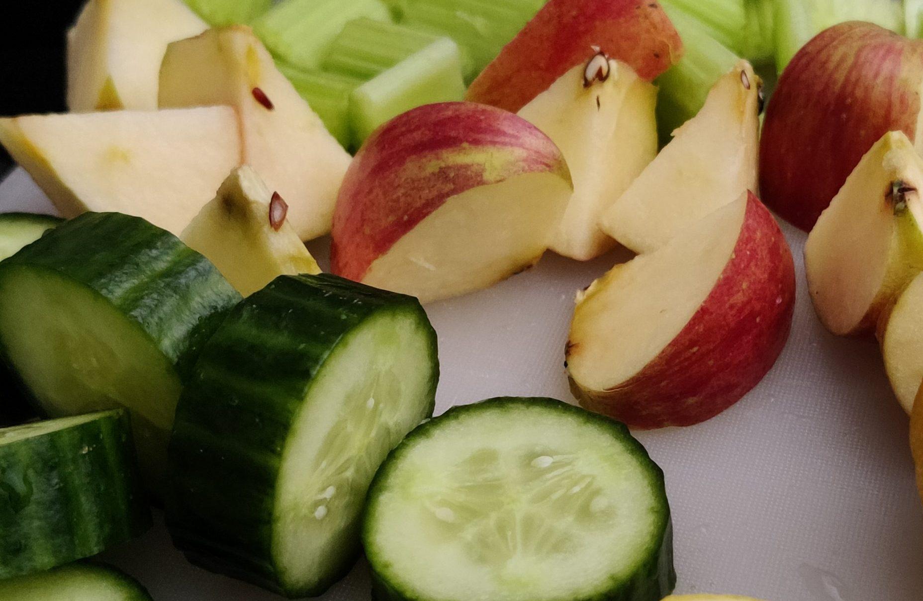 bleekselderij komkommer smoothie
