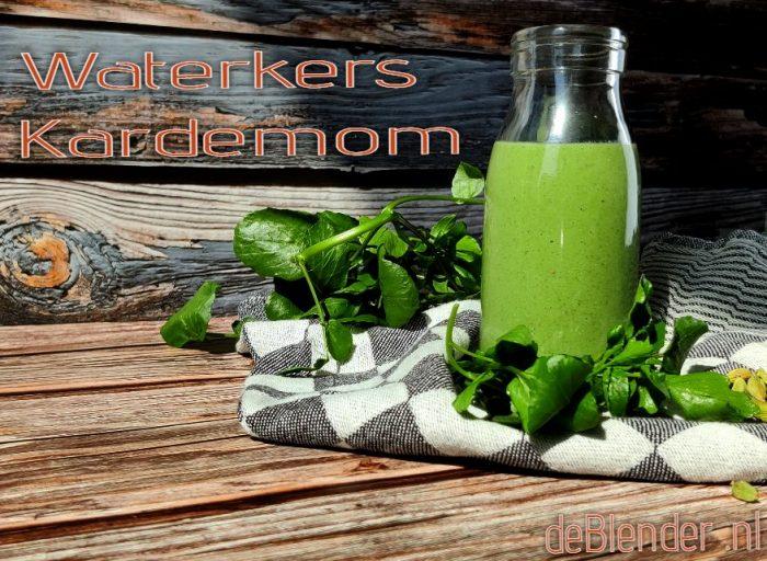 Waterkers Smoothie Kardemom